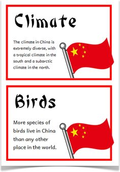 China Fact Cards - Treetop Displays - A set of 18 A5 fact cards that give key, fun and interesting facts about China. Each fact card has a key word heading, making this set an excellent topic-based word wall/ word bank as well! Visit our website for more information and for other printable classroom resources by clicking on the provided links. Designed by teachers for Early Years (EYFS), Key Stage 1 (KS1) and Key Stage 2 (KS2).