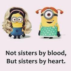 #besties Gina Love you! #SistersFromAnotherMister