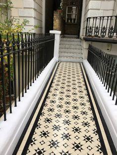 Tile Design, Garden Paths, Pathways, Mosaic Tiles, Restore, Contemporary, Modern, Animal Print Rug, Tile Floor
