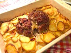 Ina Is(s)t: Mit Käse gefüllter Hackbraten im Kartoffelbett