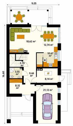 Amarylis 6 projekt domu