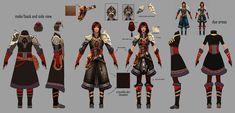 Armor Armor Concept, Weapon Concept Art, Fan Yang, Ranger Armor, Guild Wars 2, High Fantasy, Fantasy Warrior, Video Games, Character Design