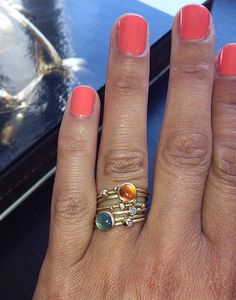 Fingerrings from Marianne Dulong