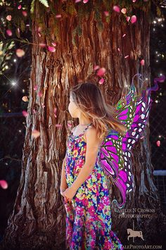 6 FAIRY WINGS ping OVERLAYS Instant Download by CastlesNCrowns