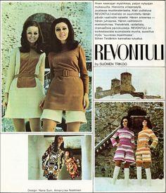 70-luvulta, päivää !:  Nanson Revontuli-mainos (Lenita Airisto) - 1968