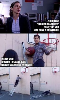 """21 Times 'Brooklyn Nine-Nine' Got Us Chuckling - Funny memes that """"GET IT"""" and want you to too. Get the latest funniest memes and keep up what is going on in the meme-o-sphere. Movie Quotes, Funny Quotes, Funny Memes, Hilarious, Jokes, Funniest Memes, Selfie Quotes, Sims Memes, Brooklyn 9"""
