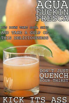 Thug Kitchen: Agua Fresca