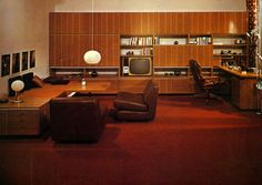 Mid Century... Tumblr link says 1977 but TV suggests late 1960s.