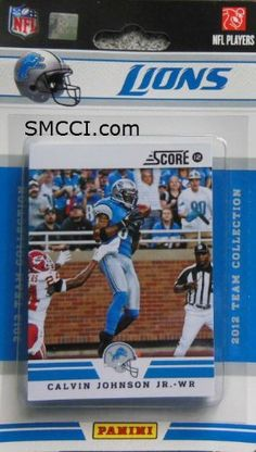 2012 Score Detroit Lions Factory Sealed 12 Card Team Set Including Matthew Stafford, Calvin Johnson, Ndamukong Suh, Nate Burleson, Jahvid Best, Kevin Smith, Stephen Tulloch, Kellen Moore, Riley Reiff, Ronnell Lewis, Ryan Browles and Brandon Pettigrew. by 2012 Score. $9.99. 2012 Score Detroit Lions Factory Sealed 12 Card Team Set Including Matthew Stafford, Calvin Johnson, Ndamukong Suh, Nate Burleson, Jahvid Best, Kevin Smith, Stephen Tulloch, Kellen Moore, Riley Reiff, Ronnell L...