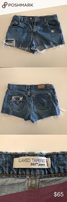 f0ba96b7e1d Spotted while shopping on Poshmark: Vintage Levi Jean Shorts in Women! # poshmark #