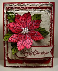 CC449 Merry Christmas Joy by Julie Gearinger - Cards and Paper Crafts at Splitcoaststampers