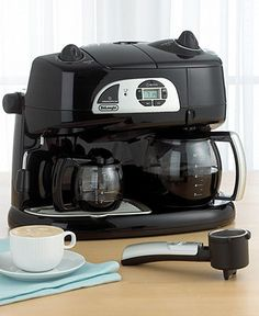De Longhi Bco120t Coffee Maker Espresso Combo Kitchen Tea Macy S