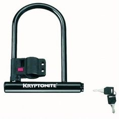 Kryptonite Keeper 12 Standard Bicycle U-Lock with Bracket Bicycle U-Lock (4-Inch x 8-Inch) --- http://www.amazon.com/Kryptonite-Keeper-Standard-Bicycle-Bracket/dp/B000BL1P3O/?tag=urbanga-20