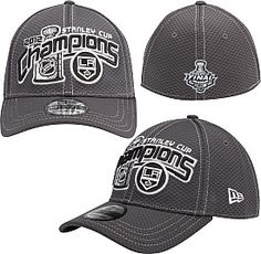New Era Los Angeles Kings 2012 Stanley Cup Champions Locker Room Hat - Shop.NHL.com