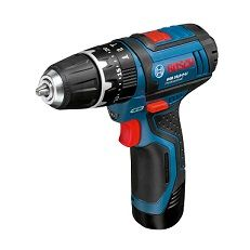 Taladro Bosch GSB 10,8 -2-LI profesional por 171,80 euros. Descuento del 25%