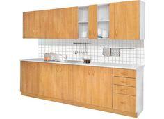 light alder kitchen design