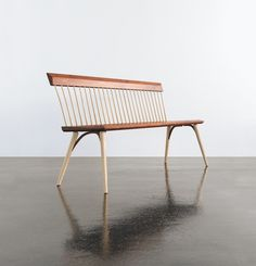 A Contemporary Interpretation Of A Traditional Shaker Design, The Eastward  Bench Speaks To The Beauty