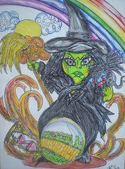 Terri Allbright - #6 The Wicked Witch Of...