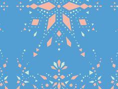 Pattern Zoom by Katie Johnson