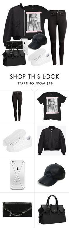 """Untitled #3630"" by lilaclynn ❤ liked on Polyvore featuring H&M, adidas Originals, Yves Saint Laurent, Vianel, STELLA McCARTNEY, women's clothing, women, female, woman and misses"