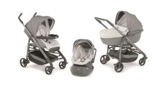 Chicco Trio Love - коляска 3 в 1 (Light Grey) Baby Girl Strollers, Baby Buggy, Ball Dresses, Graphite, Girly, Clothes, Strollers, Daughters, Everything
