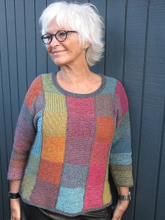 Ravelry: Colorful Sweater in Coast Yarn pattern by Ketty Conrad