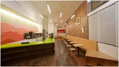 Imagine These: Cafe Interior Design | Café de Leche Highland Park, California | Freeland Buck