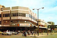 Victoria Centre, Nottingham, 1970s.