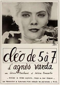CLEO DE 5 A 7 aka CLEO FROM 5 TO 7 (Dir. Agnès Varda, 1962 ...