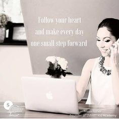 Follow your heart and make  every day one small step forward.For more parenting tips visit smartkidacademy.com