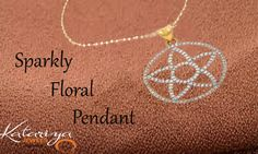 Stylish Gold Fashion Pendant in 22K Buy Now : http://buff.ly/1KH5ipa COD Option Available with Free Shipping In India
