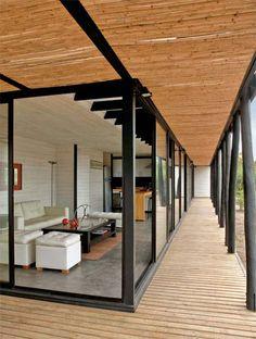sala e terraço