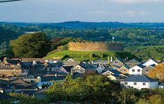 View of Totnes Castle