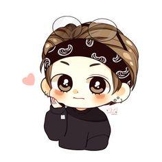 v bts chibi Bts Chibi, Anime Chibi, Bts Quiz Game, Fan Art, Taehyung Fanart, Kpop Drawings, Dibujos Cute, Kpop Fanart, Bts Lockscreen