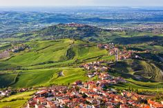 Travel to San Marino - Europe Tours - Expat Explore Travel Italy Country, Der Bus, Skyline, Explore Travel, Northern Italy, Nature Reserve, Luxembourg, Beach Fun, Countries Of The World
