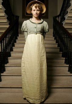 Carey Mulligan as Isabella Thorpe in Northanger Abbey (2007).