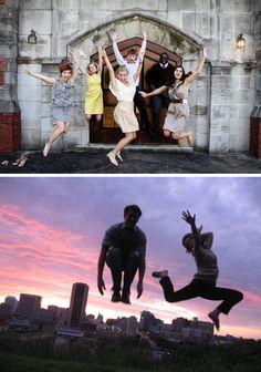 A Dozen Creative Ideas to Inspire Your Next Photo Shoot via Brit + Co. @Jessie Tyree @Emma Cregg we are famous!