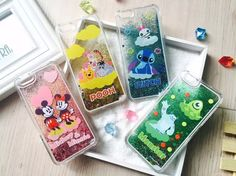 Liquid glitter phone case for Iphone 6/6s/6 plus/6s plus Like the glitter cups you used to have when you were a kid, these gorgeous disney glitter