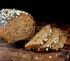 Oatmeal Walnut Bread with Poppy Seeds