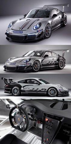 New Porsche 911 Cup Race Car for 2013 - Box Autos Porsche 911 Gt3, New Porsche, Porsche Cars, Porsche 2017, Maserati, Ferrari, Lamborghini, Bugatti, Ferdinand Porsche