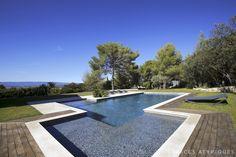 Meyrargues : VILLA CONTEMPORAINE - Agence EA Aix-en-Provence