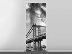 Tür #Tapete Manhattan Bridge