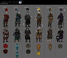 Skellige clans concept by Scratcherpen.deviantart.com on @DeviantArt