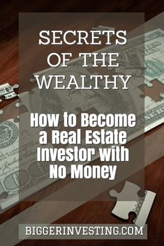 Discover how to become a real estate investor with no money or little money through understanding lease options, seller finance, and wholesaling. Real Estate Rentals, Real Estate License, Real Estate Tips, Real Estate Business, Real Estate Investor, Real Estate Marketing, Investing In Real Estate, Commercial Real Estate Investing, Real Estate Courses