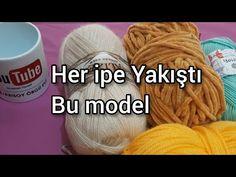 Çeyizlik yelek yapımı / Şişle kadife ipten battaniye / crochet - YouTube U Tube, Fall Sweaters, Make It Yourself, Crochet, Tejidos, Bag, Knit Patterns, Breien, Ganchillo