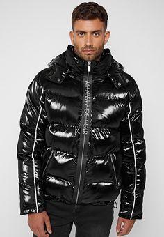 Puffer Jackets, Winter Jackets, Men's Jackets, Mens Down Jacket, Zip Puller, Model, Sleeves, How To Wear, Coats