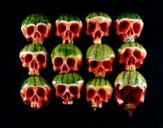 Skull Fruits by Dimitri Tsykalov  http://dimitritsykalov.com/#intro