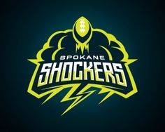 Logo-Design-Inspiration  Spokane Shockers  #logos #sportslogos