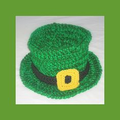 St. Patrick's day knitted hat