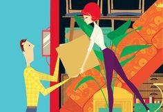 Moving | Illustration by Deanna Halsall